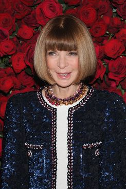 "Anna Wintour attends the Museum of Modern Art's 4th Annual Film benefit ""A Tribute to Pedro Almodovar"" at the Museum of Modern Art on November 15, 2011."