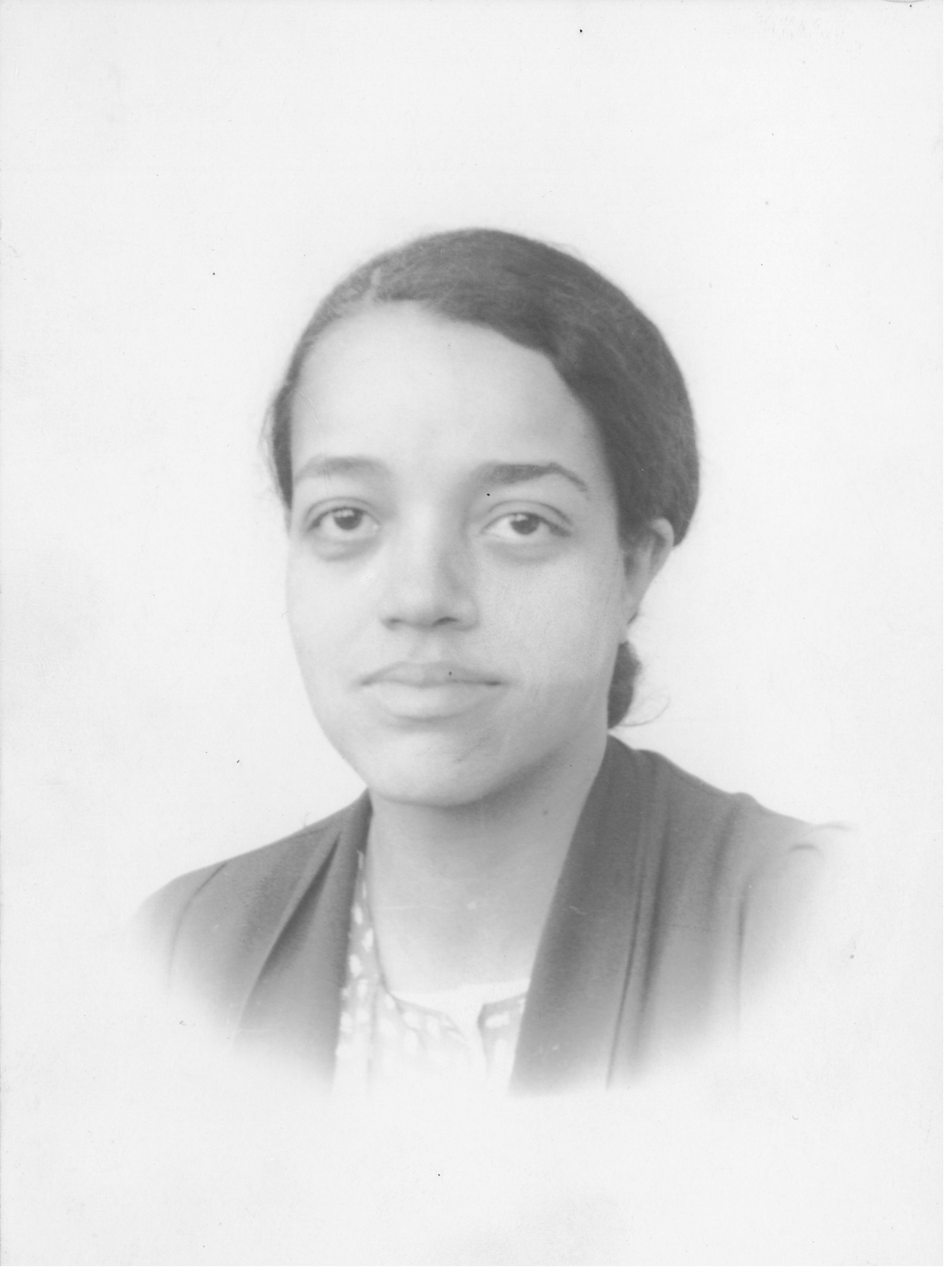 Dorothy Vaughan in her twenties. Photograph courtesy of the Family of  Dorothy J. Vaughan