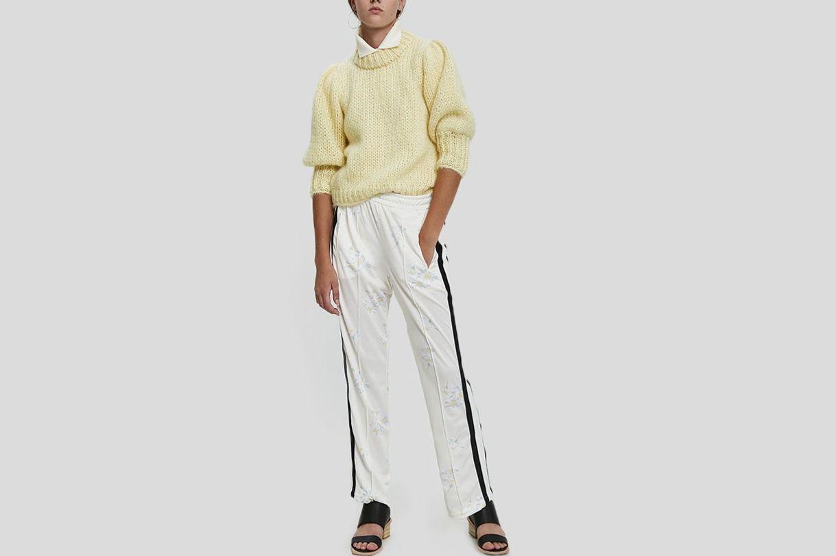 Ganni Dubois Polo Pull-On Pant
