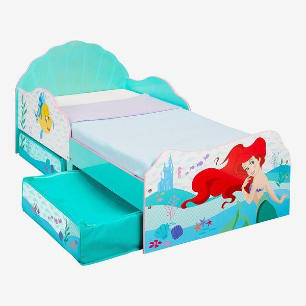 Disney Princess Ariel Kids Bed (with Storage)