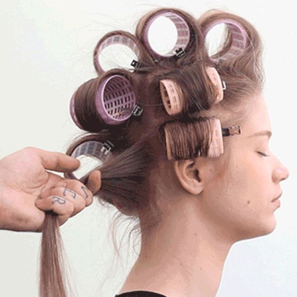 steam hot rollers for fine hair