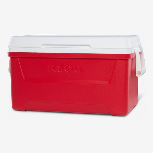 Igloo 48-Qt. Laguna Ice Chest Cooler (Red)