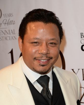 BEVERLY HILLS, CA - FEBRUARY 05: Actor Terrence Howard attends the EXPERIENCE: East Meets West event hosted by the Beverly Hills chamber of commerce at Crustacean on February 5, 2014 in Beverly Hills, California. (Photo by Jason Merritt/Getty Images)
