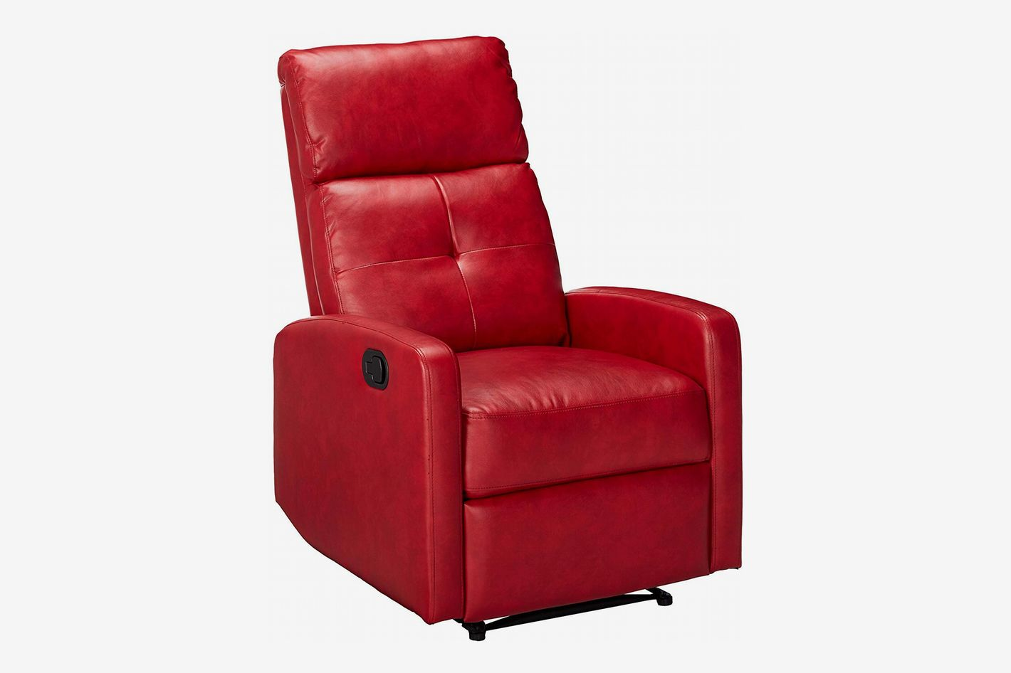 Great Deal Furniture 299401 Teyana Leather Recliner Club Chair
