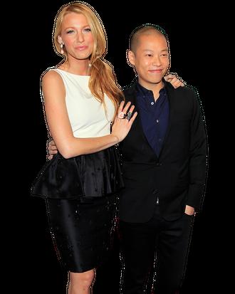 Blake Lively and Jason Wu.