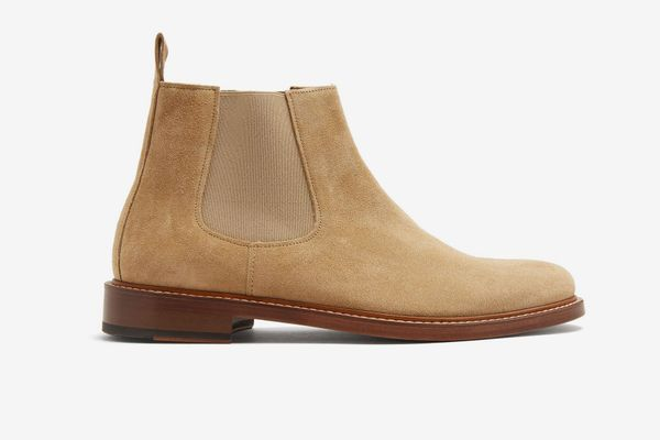 A.P.C.Ethan Suede Chelsea Boots