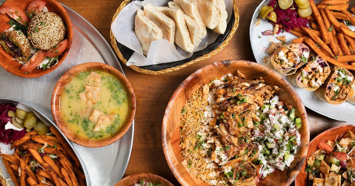A bountiful spread at Zyara., Photo: Melissa Hom