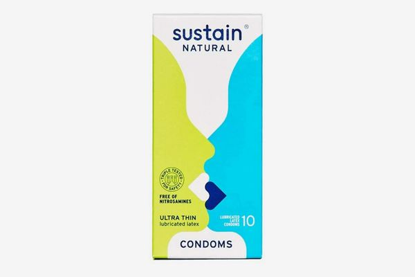 Sustain Naturals Ultra Thin Condoms, 20 Count
