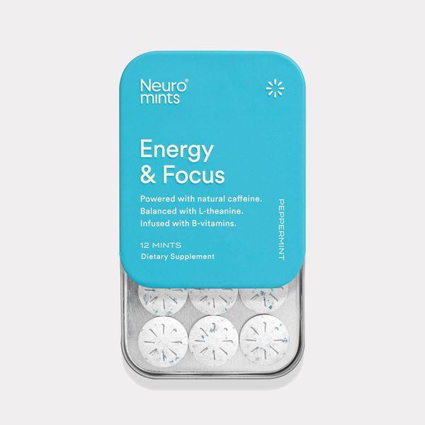 Neuro Energy & Focus Mints, Peppermint (6-pack)