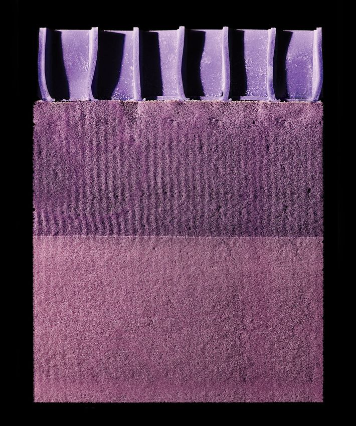 mattress innards the proprietary polymer of a purple mattress photo bobby dohertynew york magazine
