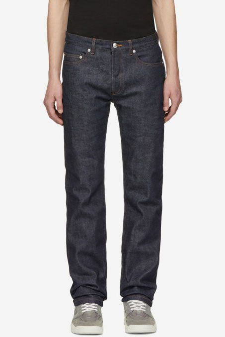 Jones New York Womens Plus Size Indigo Pull On Pant with Back Patch Pocket