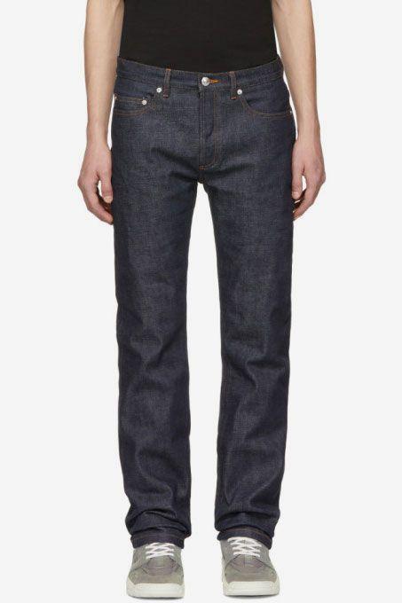 ade0daa4 APC New Standard Jean, Raw Indigo