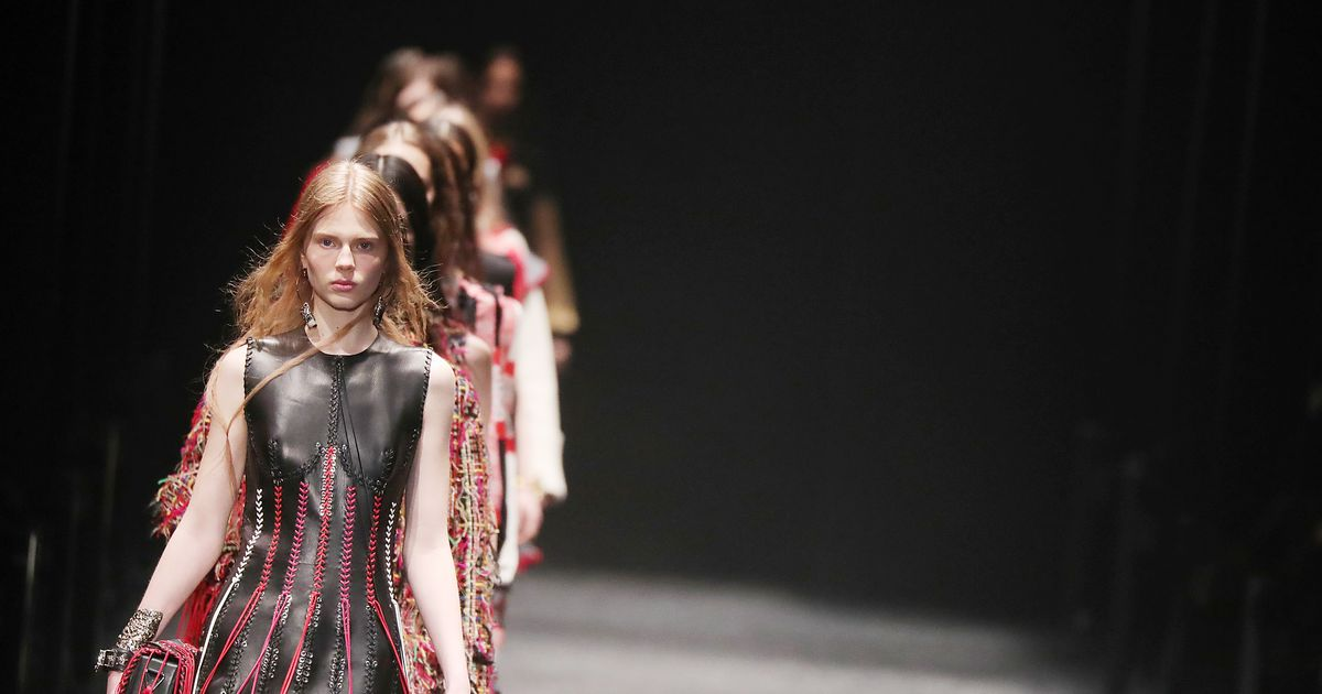 Sarah Burton Made Medieval Feel Modern at Today's McQueen Show
