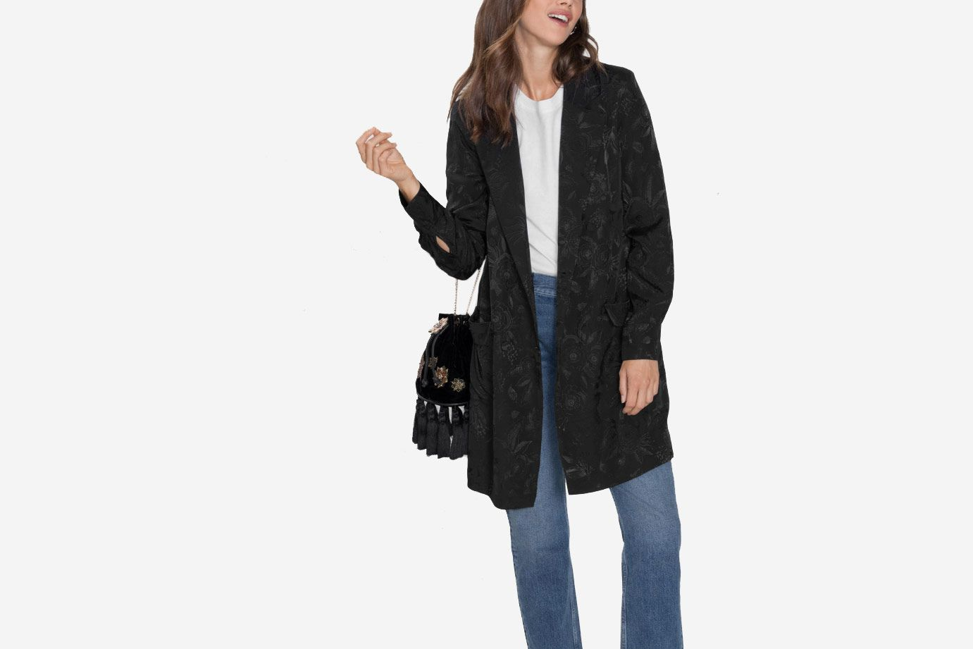 & Other Stories Long-line Blazer
