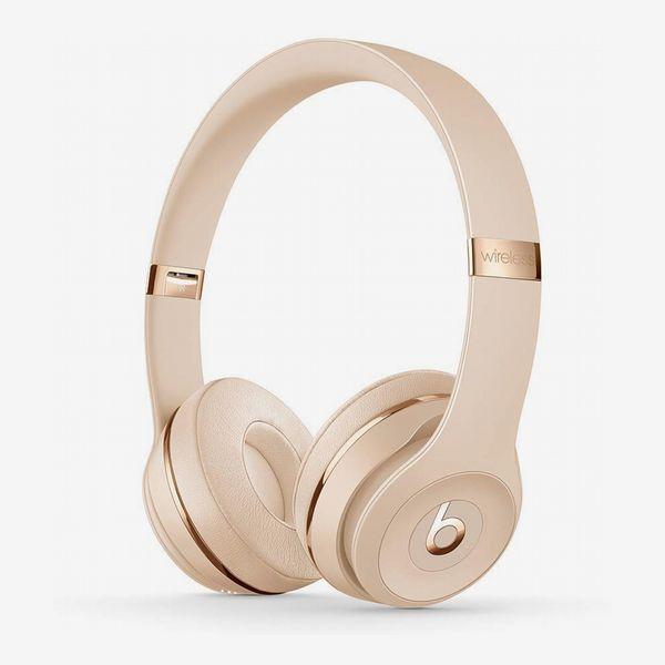 Beats Solo3 Wireless On-Ear Headphones in Satin Gold