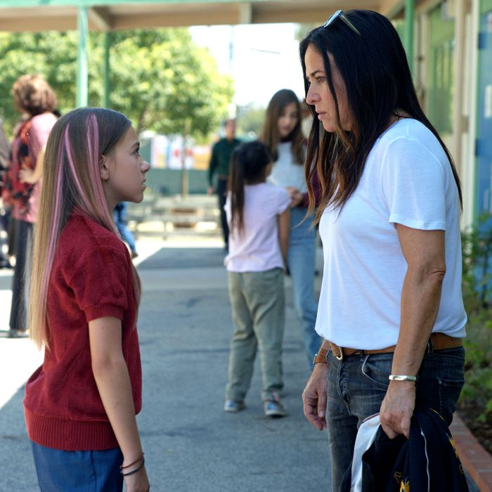 Olivia Edward and Pamela Adlon in Better Things.