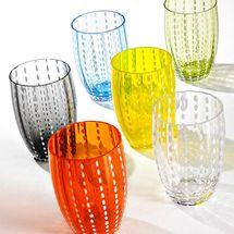 Zafferano Perle Beverage Glass (Set of 6)