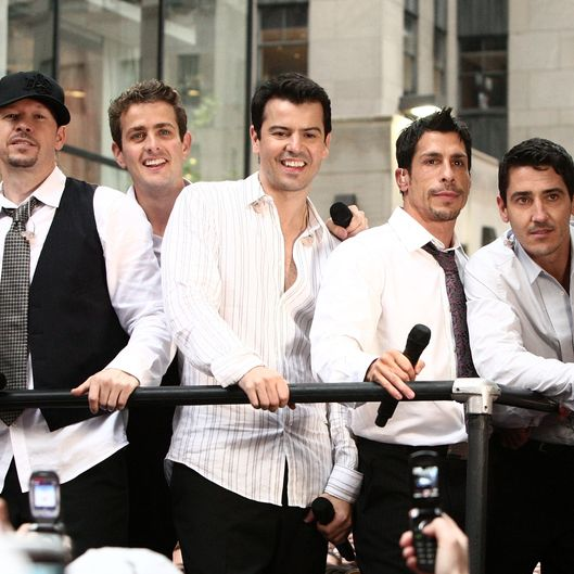 "New Kids On The Block Perform Live On NBC's ""Today"" - May 16, 2008"