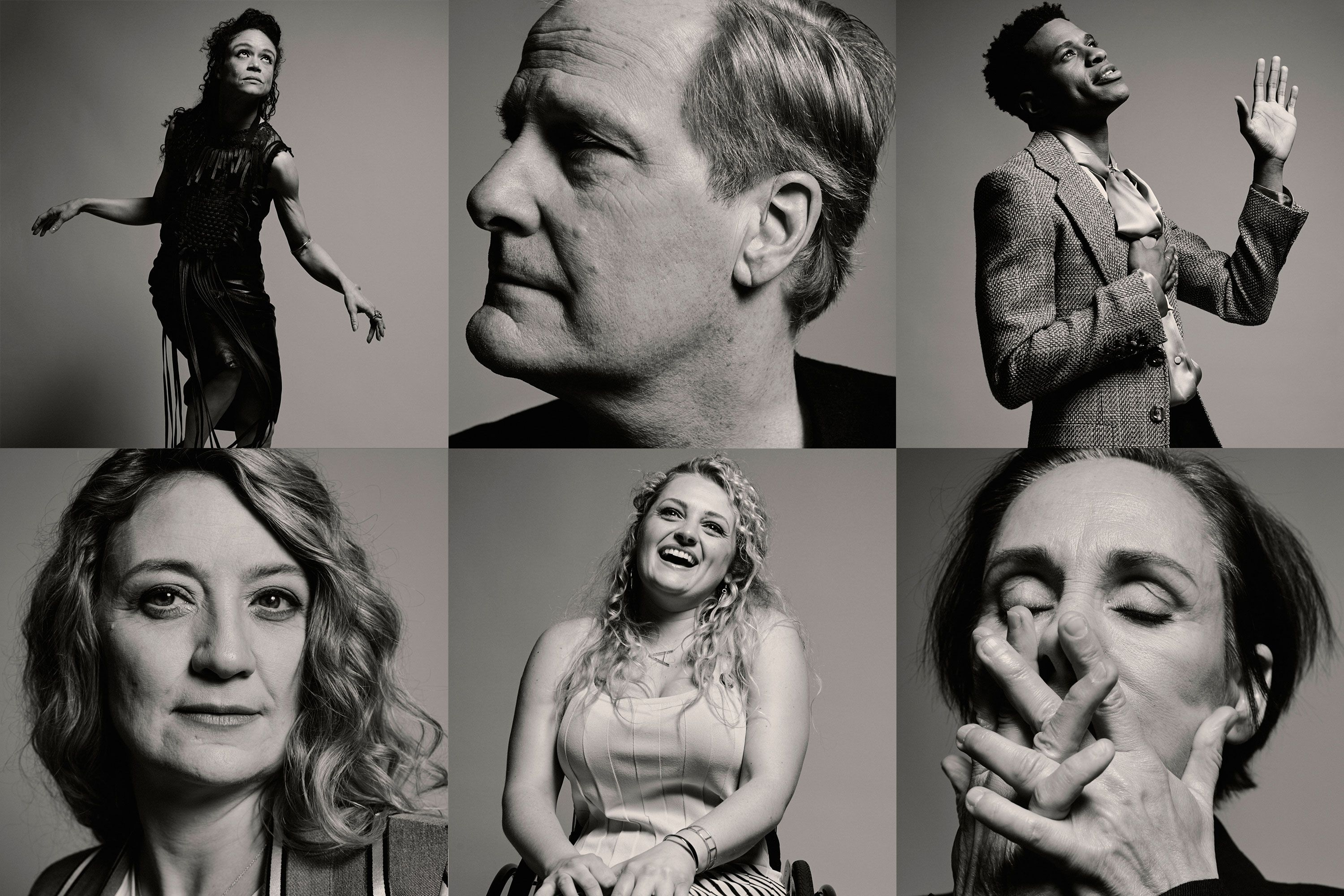 The Faces of the 2019 Tony Nominees