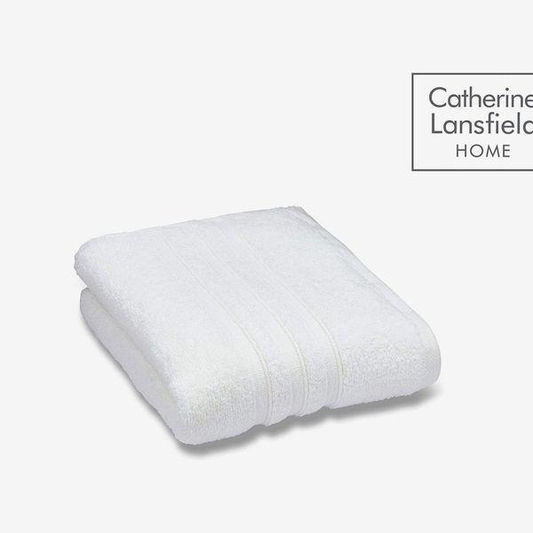 Catherine Lansfield Zero Twist Bath Sheet White