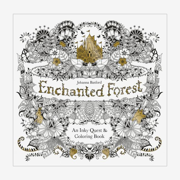 Enchanted Forest: An Inky Quest & Coloring book, by Johanna Basford