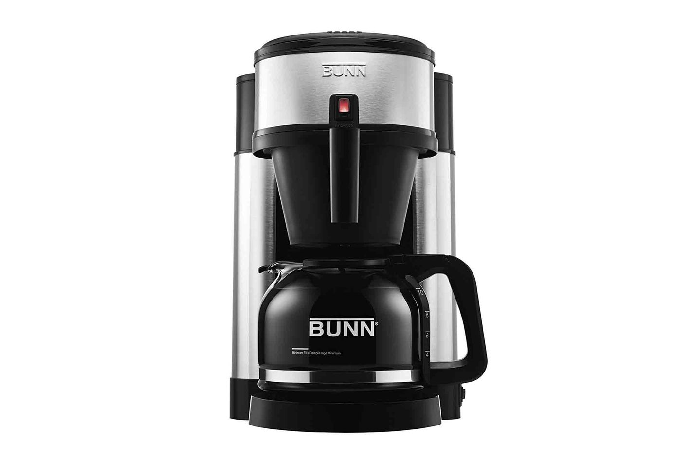 BUNN NHS Velocity Brew 10 Cup Home Coffee Brewer At Amazon