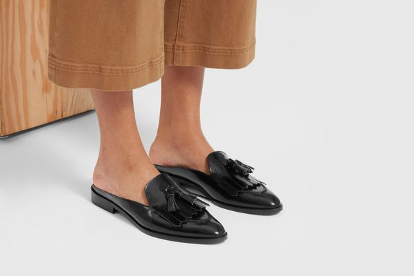 The Modern Tassel Loafer Mule