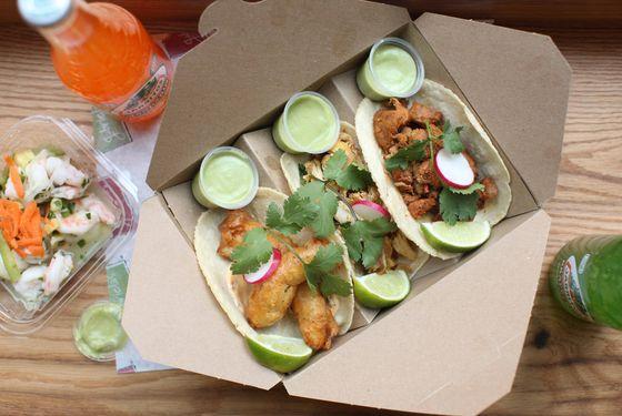 Gabriela's tacos.