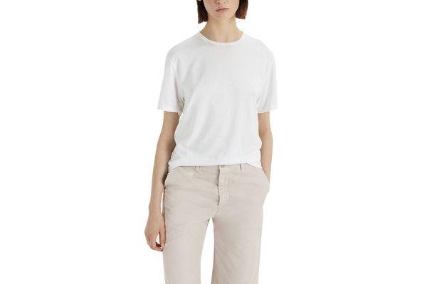 La Garçonne x Save Khaki Supima T-Shirt