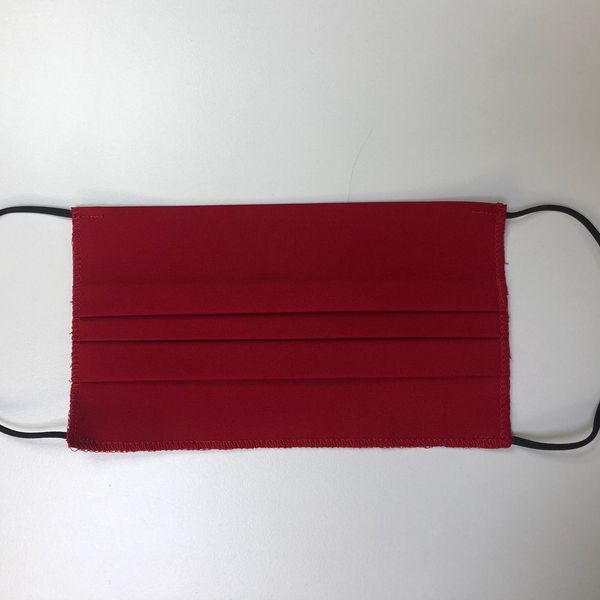 Cotton Face Mask Double Layer (Red)