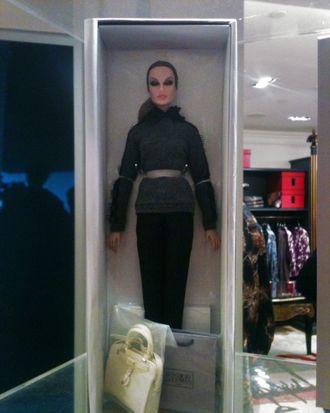 Jason Wu's Fashion's Night Out doll.