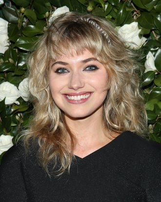 NEW YORK, NY - NOVEMBER 05: Imogen Poots attends the Museum of Modern Art 2013 Film benefit: A Tribute To Tilda Swinton on November 5, 2013 in New York City. (Photo by Rob Kim/Getty Images)