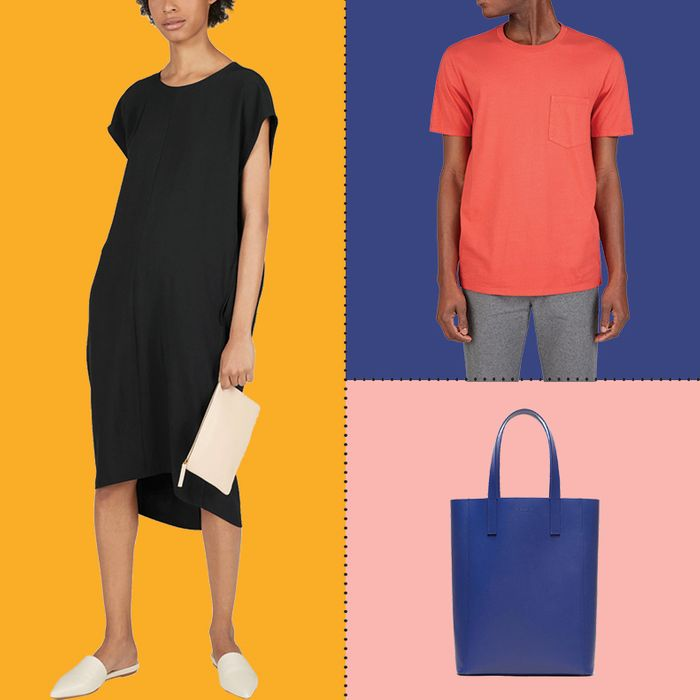 Selections from Everlane's
