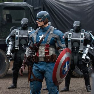 Captain America: The First Avenger, the Movie.