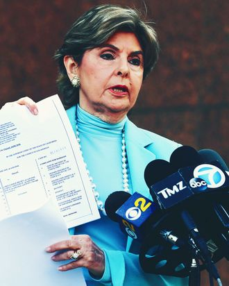 Attorney Gloria Allred.