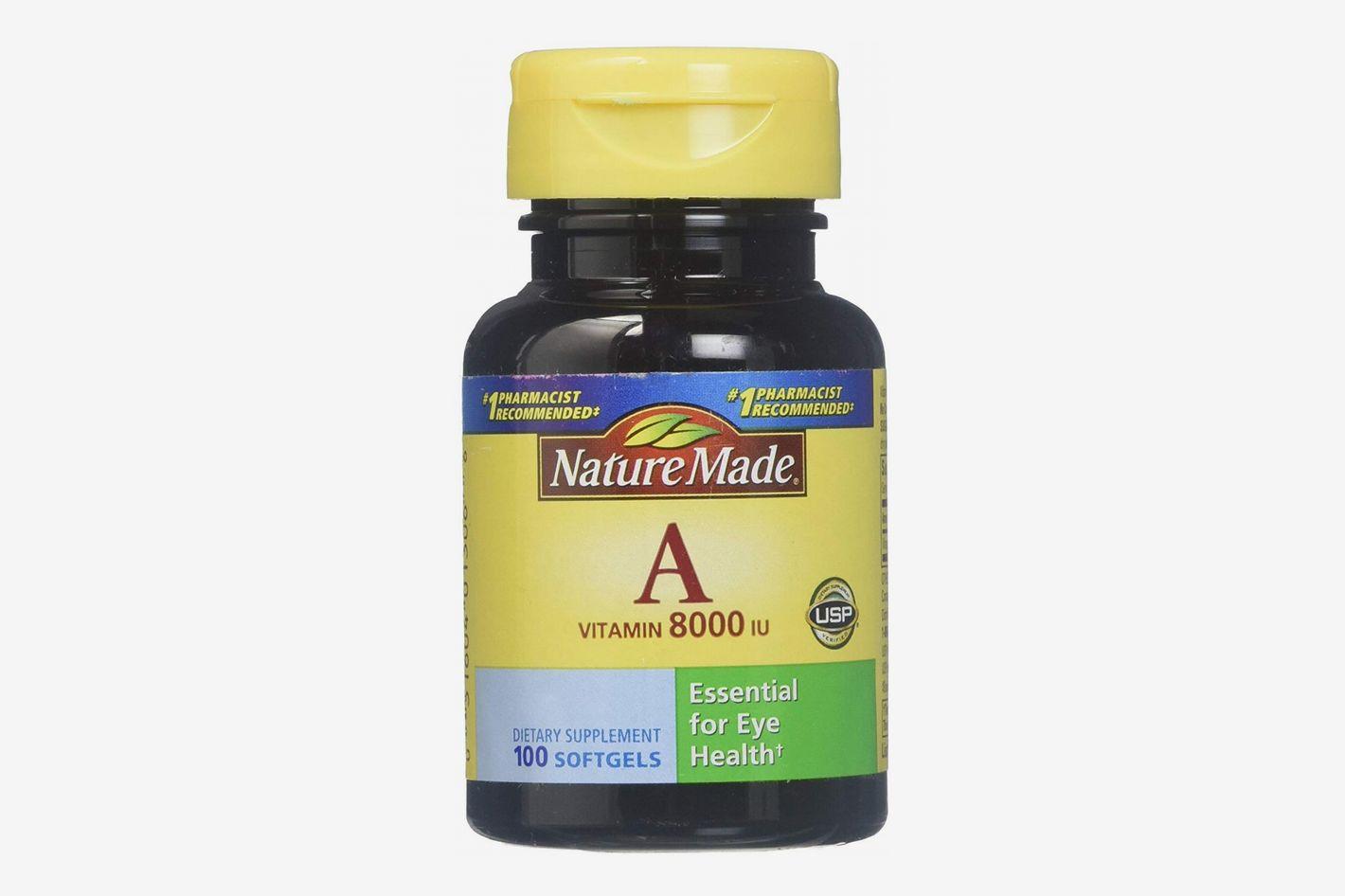 Nature Made Vitamin A 100 ct.