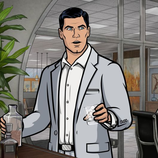 "ARCHER -- ""Deadly Velvet: Part I"" -- Episode 709 (Airs Thursday, May 26, 10:00pm e/p) Pictured: (l-r) Sterling Archer (voice of H. Jon Benjamin), Malory Archer (voice of Jessica Walter), Ellis Crane (voice of John O'Hurley), Lana Kane (voice of Aisha Tyler). CR: FX"
