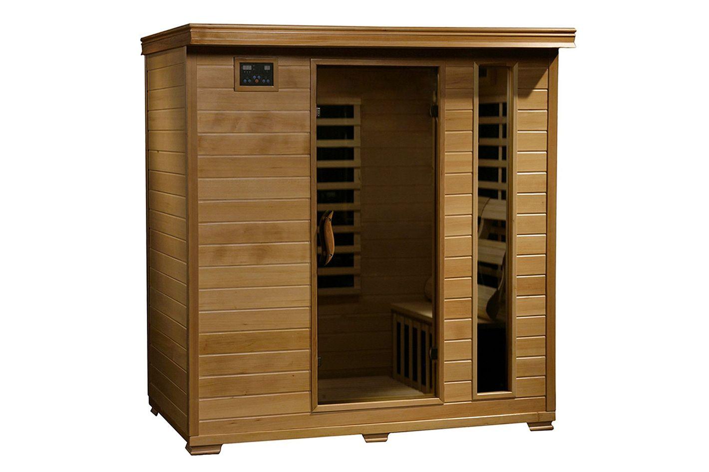 Radiant Saunas 4-Person Hemlock Infrared Sauna