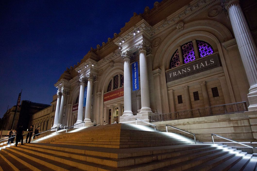 NEW YORK, NY - SEPTEMBER 26:  A general view of The Metropolitan Museum of Art during the night on September 26, 2011 in New York City.  (Photo by Dario Cantatore/Getty Images)