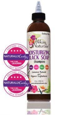 Alikay Naturals' Black Soap Shampoo