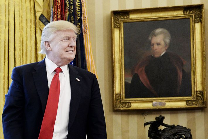 President Trump Makes Befuddling Statement About Andrew Jackson and the Civil War