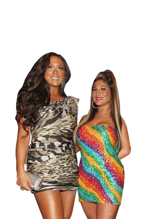 Jersey Shore's Deena and Sammi on Their Off-Camera ...