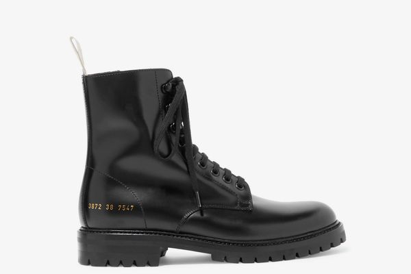 Common Projects Combat Leather Boots