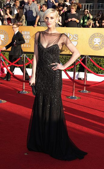 Celebrities arriving at the Screen Actors Guild Awards 2012 held at the Shrine Auditorium in Los Angeles, CA. <P> Pictured: Ashlee Simpson <P><B>Ref: SPL355281  290112  </B><BR/> Picture by: Nate Beckett / Splash News<BR/> </P><P> <B>Splash News and Pictures</B><BR/> Los Angeles:310-821-2666<BR/> New York:212-619-2666<BR/> London:870-934-2666<BR/> photodesk@splashnews.com<BR/> </P>