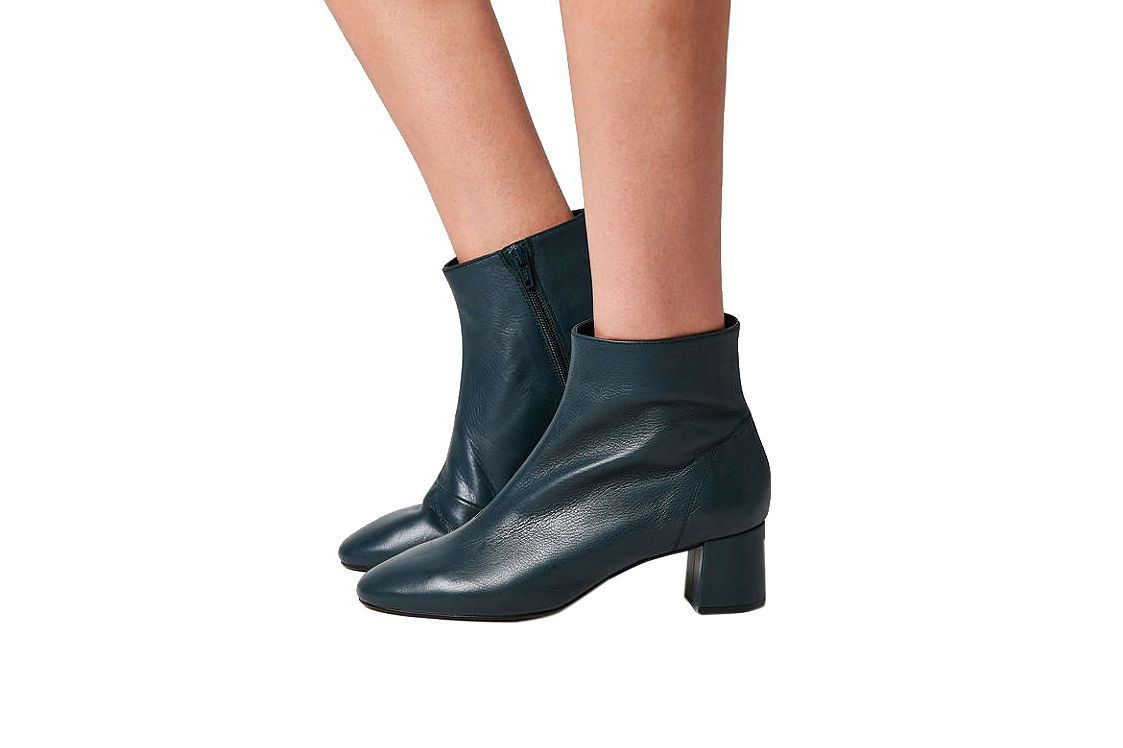 Crosswalk Jana Leather Ankle Boot