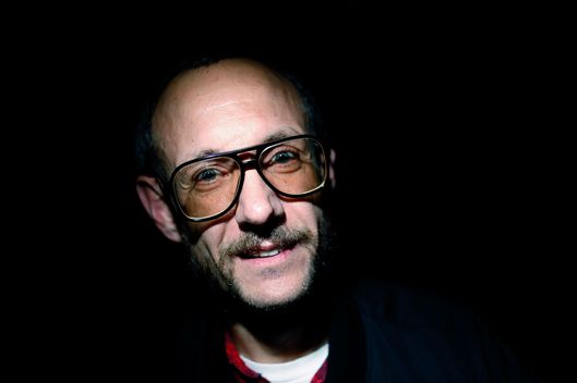 NEW YORK - SEPTEMBER 12:  Photographer Terry Richardson attends Alexander Wang Spring 2010 during Mercedes-Benz Fashion Week at Pier 94 on September 12, 2009 in New York City.  (Photo by Joe Kohen/WireImage)
