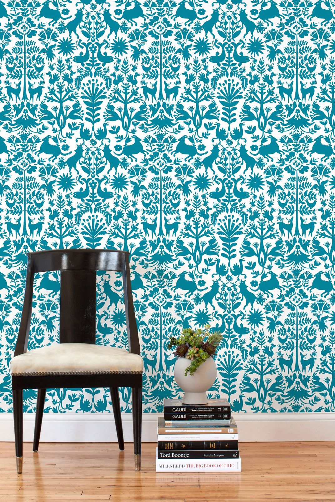 Hygge & West Emily Isabella Otomi Turquoise Tiles