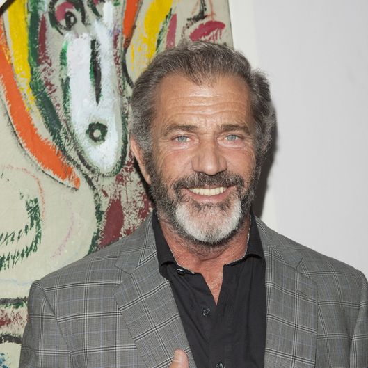 "HOLLYWOOD, CA - FEBRUARY 14: Mel Gibson attend Mending Kids International's ""Rock & Roll All-Stars"" Fundraising Event on February 14, 2014 in Hollywood, California. (Photo by Michael Bezjian/WireImage)"