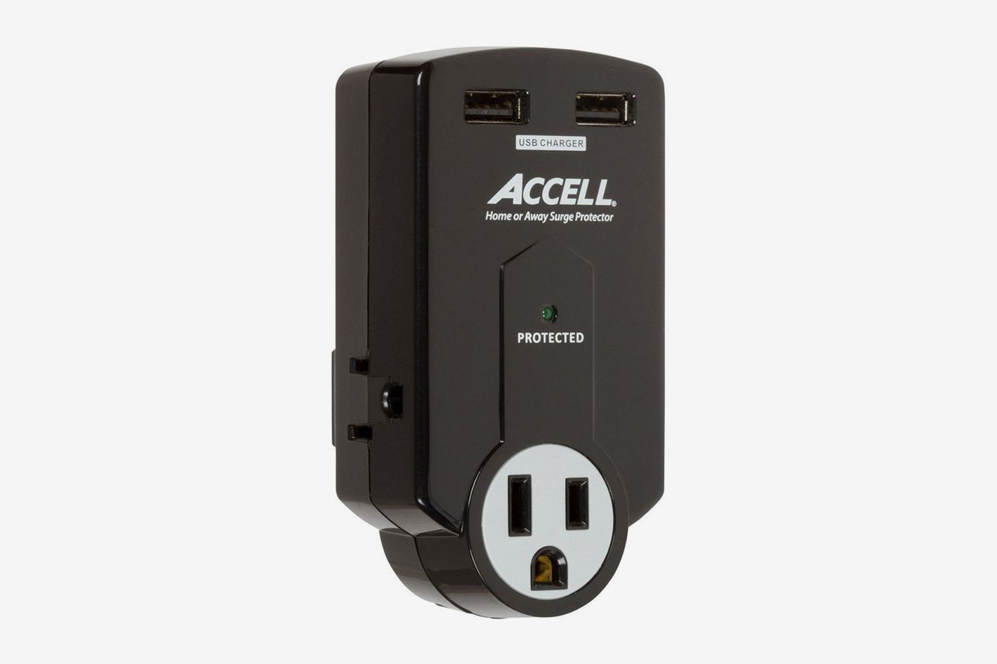 Accell 3-Outlet Travel Surge Protector