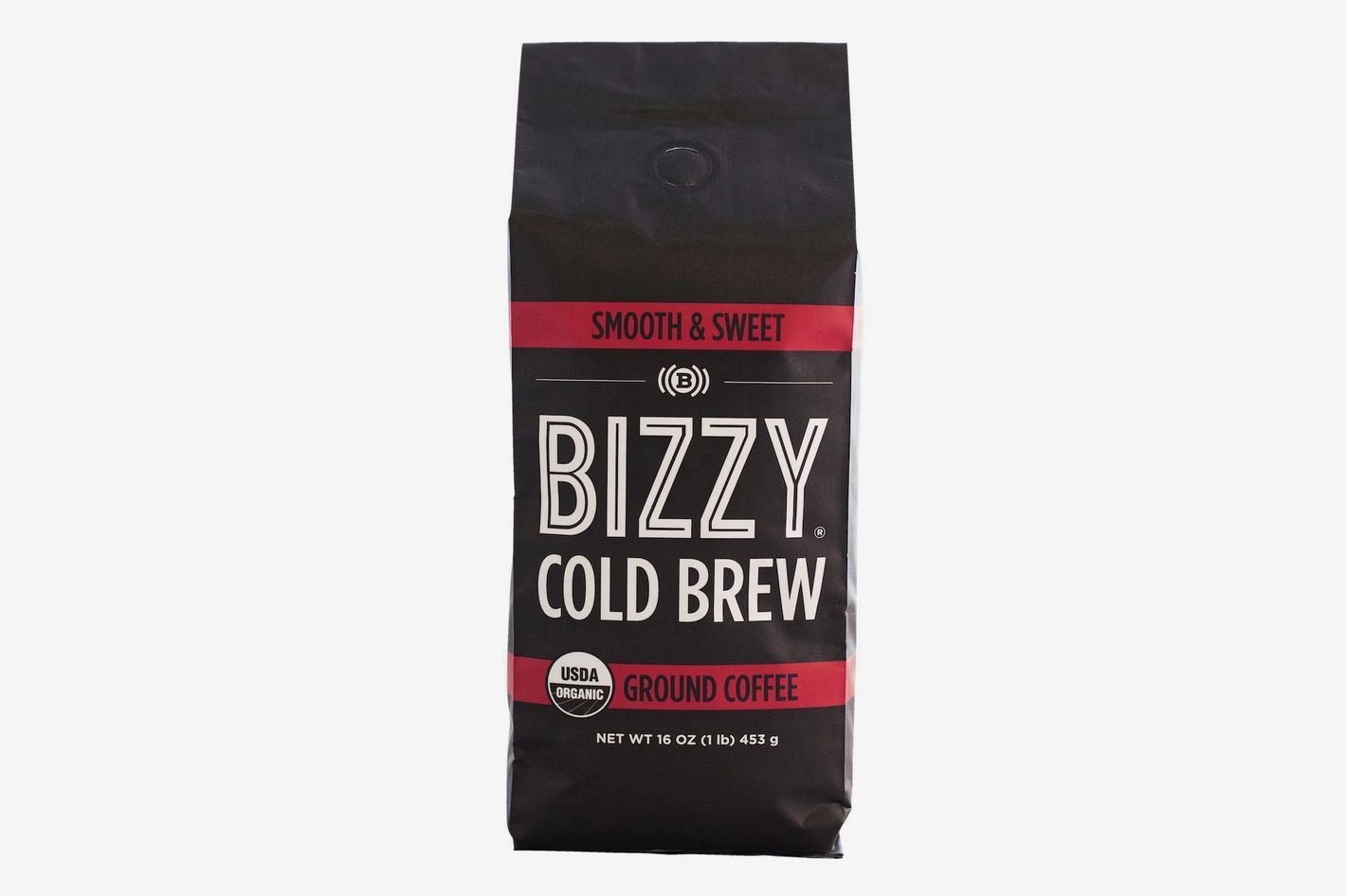 Bizzy Organic Cold Brew Coffee, 12 Ounces